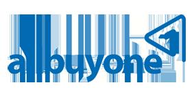 Logo Allbuyone in blau